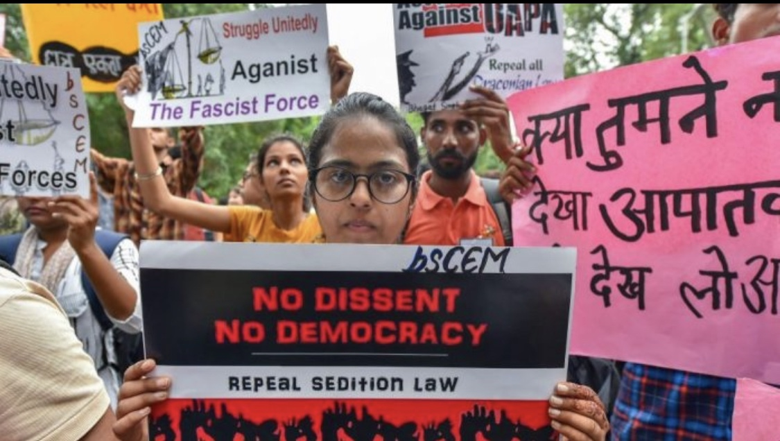 Crackdown on Dissent: A Conspiratorial Approach